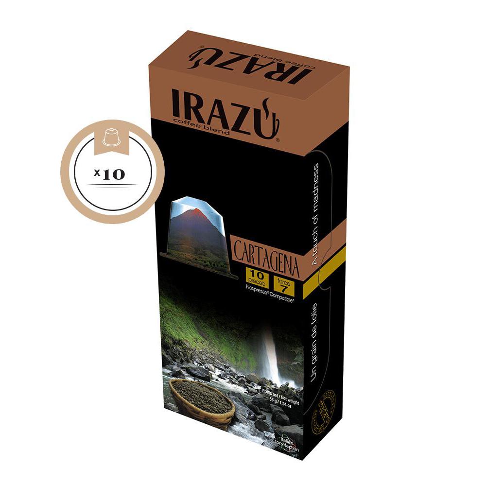 Irazu Cartagena Nespresso Compatible Capsule Box of 10