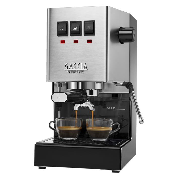 Gaggia New Classic Pro Semi-Automatic Espresso Machine - Stainless Steel RI9380/46