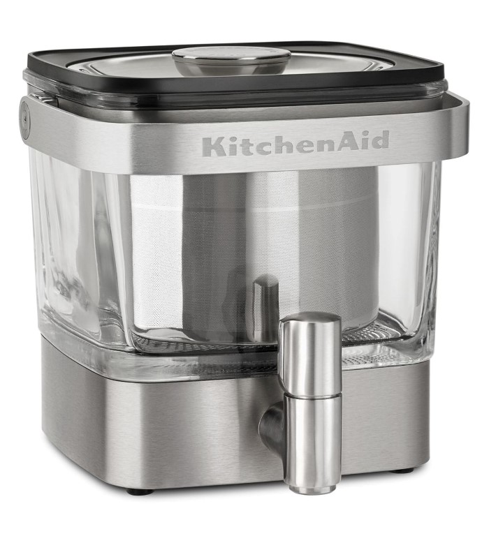 Kitchenaid 174 Cold Brew Coffee Maker Brushed Stainless Steel