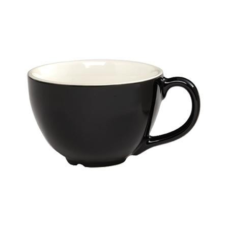 CremaWare 8oz Black Cappuccino Cup