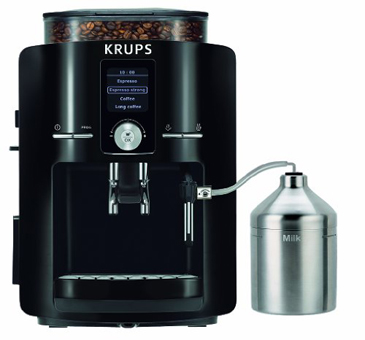Krups EA8250J4 Superautomatic Espresso Machine with Krups Milk Island