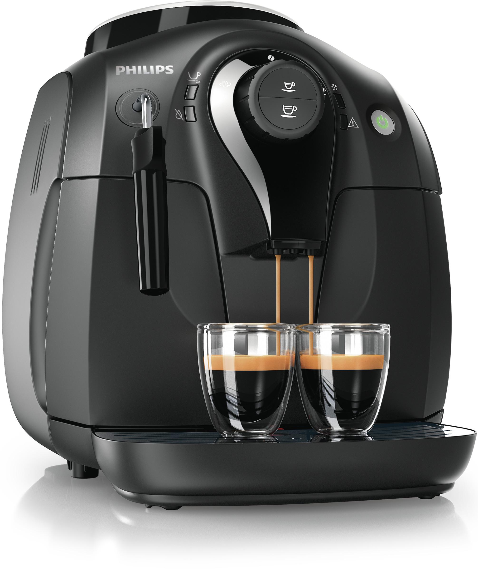 Philips / Saeco Series 2000 Vapore Super Automatic Espresso Machine Black HD8651/14