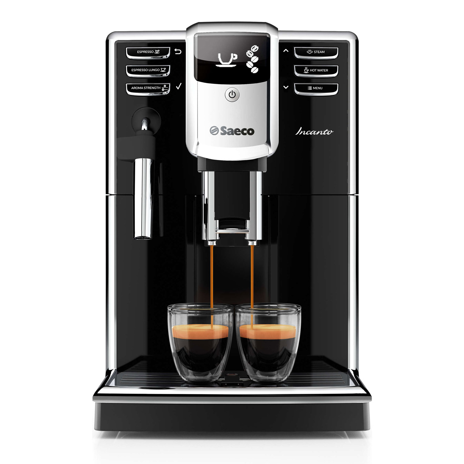 Saeco Incanto Black Superautomatic Espresso Machine - HD8911/48