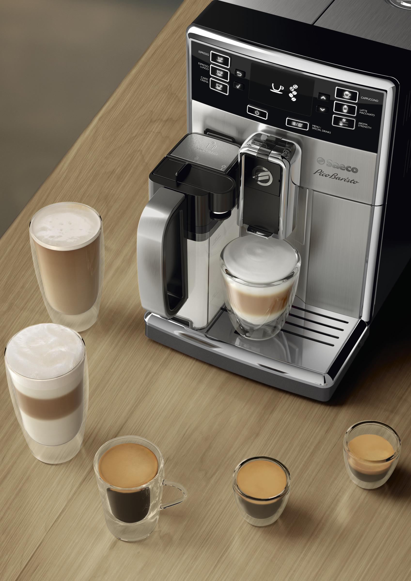 Saeco Pico Baristo Carafe Super Automatic Espresso Machine