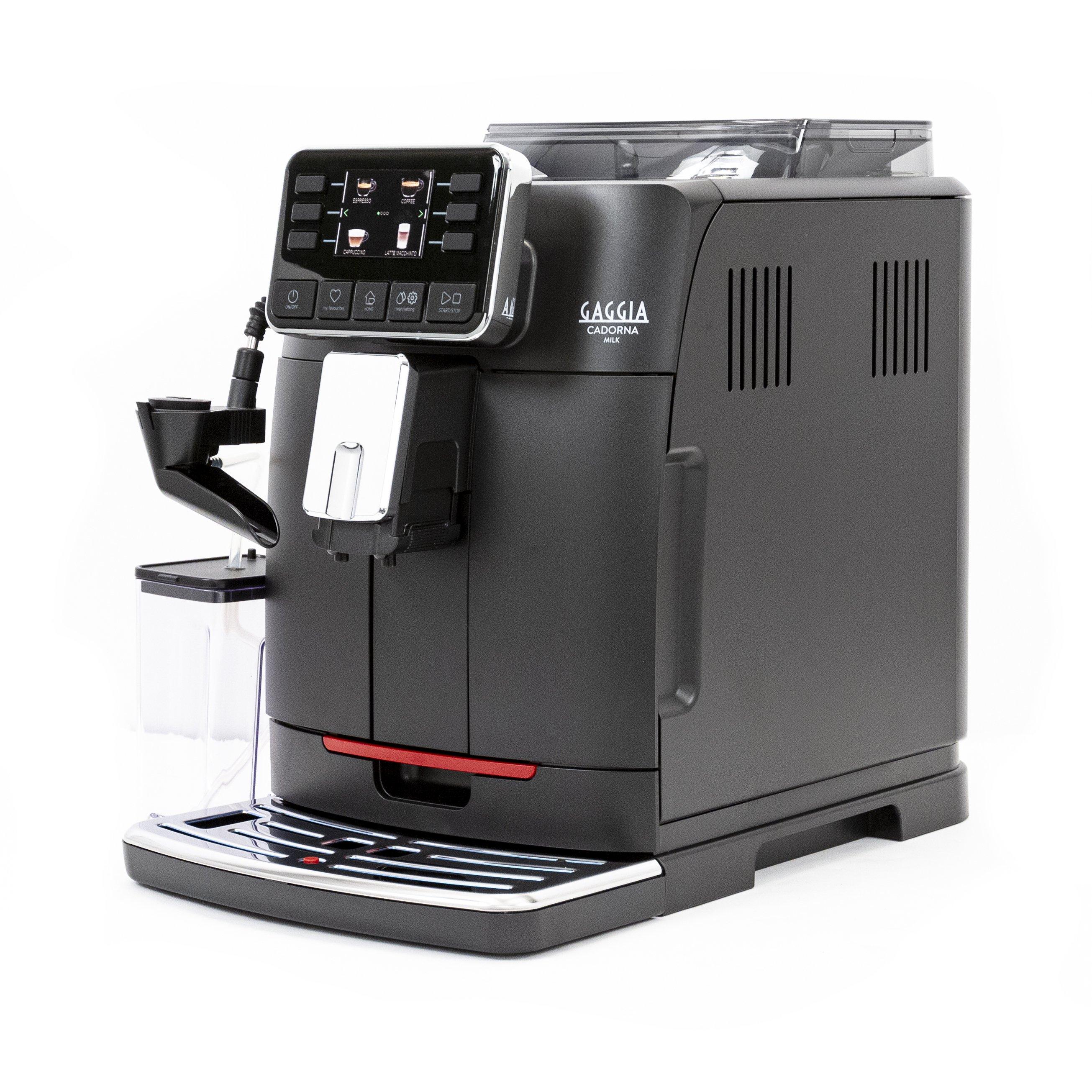 Gaggia Cadorna Milk Black Super Automatic Espresso Machine - RI9603/47
