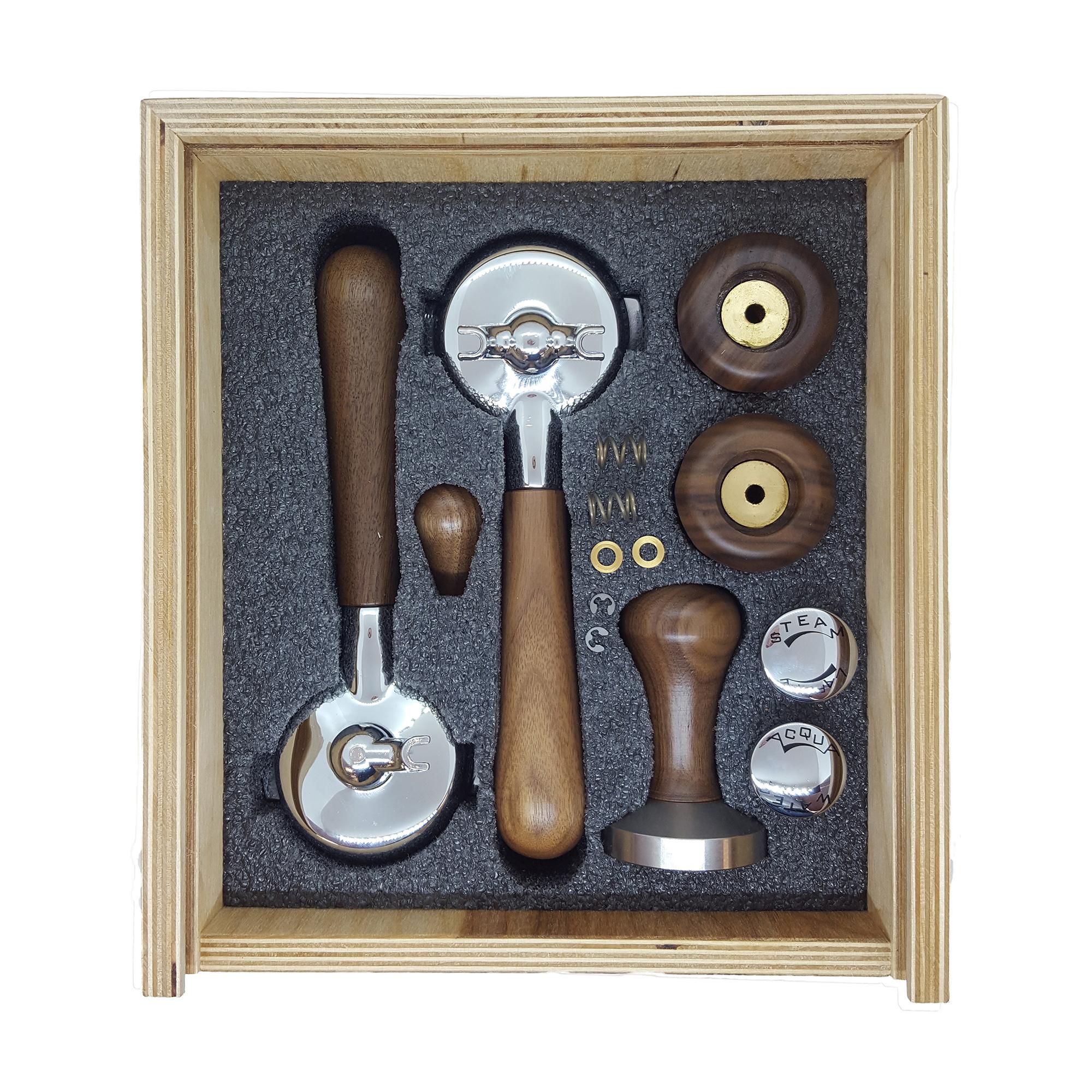 Izzo Knob and Portafilter Accessory Set - Wood