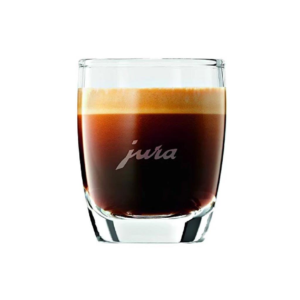 Jura Espresso Glass Cups with Jura Logo Set of 2 - #71451