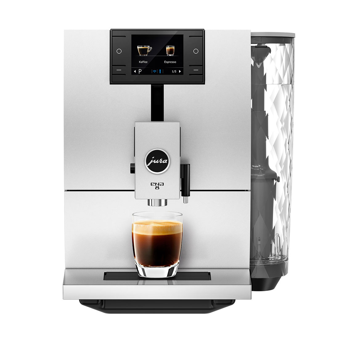Jura ENA 8 Superautomatic Espresso Machine - Nordic White