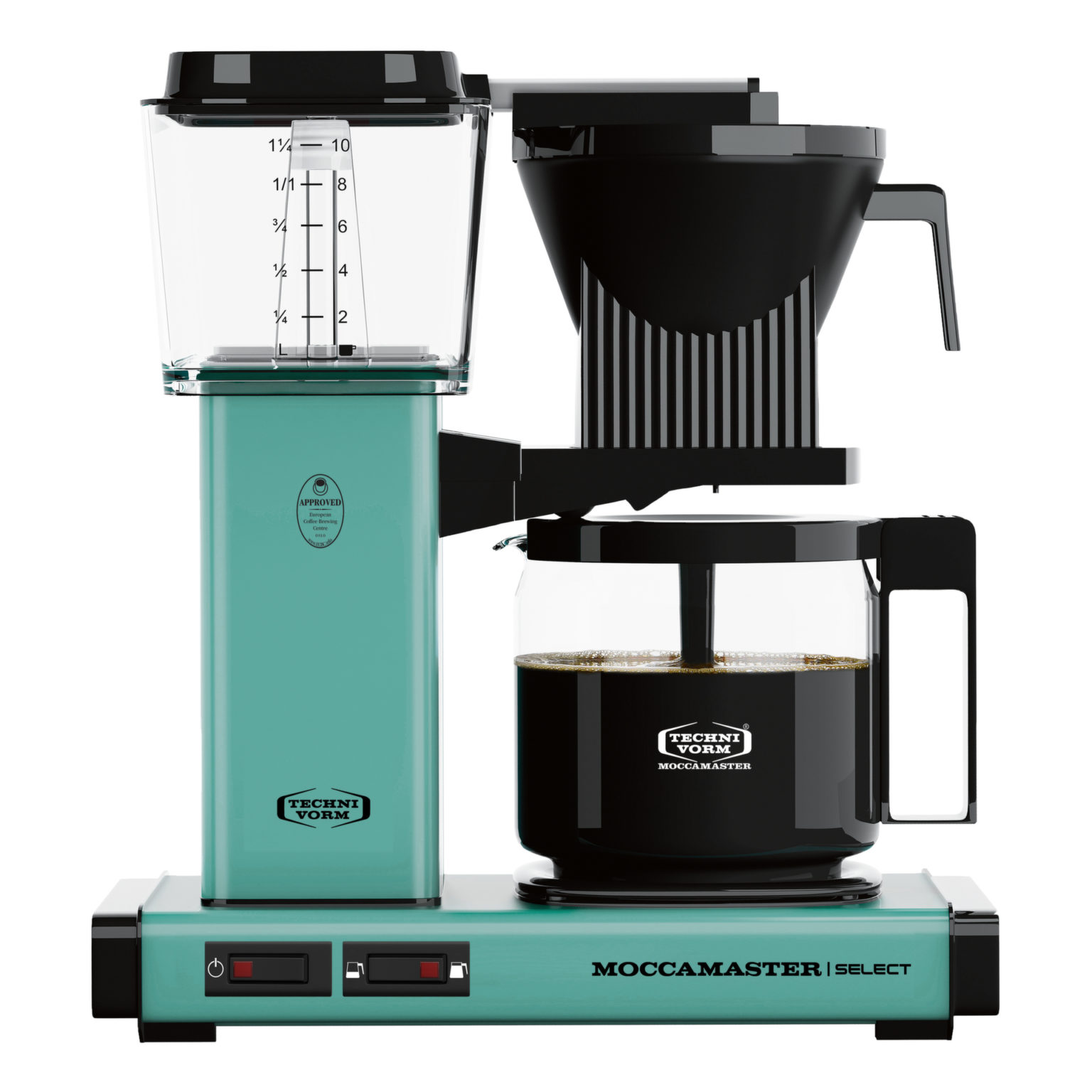 Technivorm Moccamaster KBGV Select Brewer Glass Carafe Turquoise - 53934