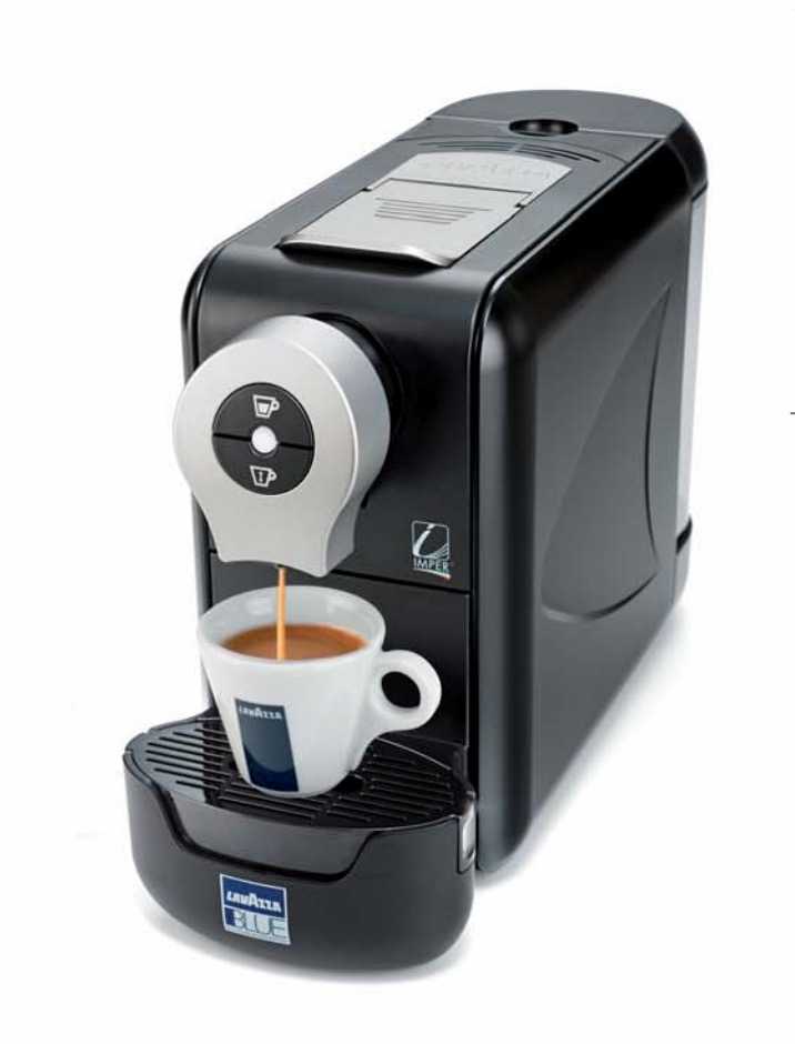 lavazza blue lb compact capsule machine black espresso. Black Bedroom Furniture Sets. Home Design Ideas