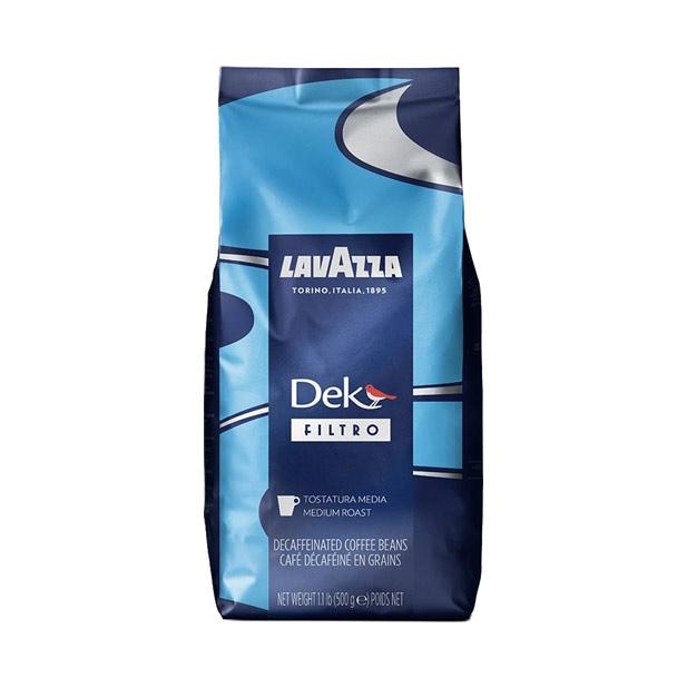Lavazza Dek Filtro Coffee Whole Beans - 500g