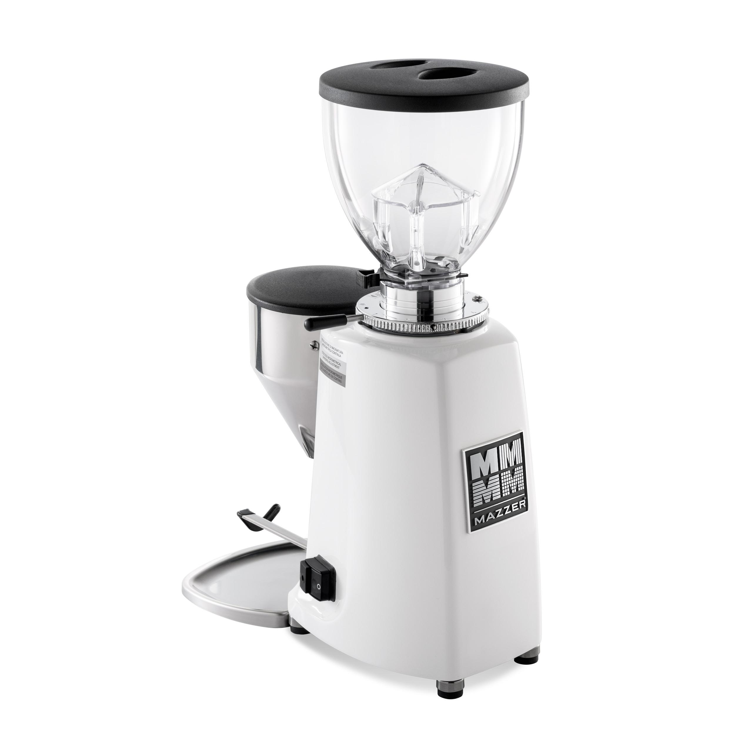 Mazzer Mini E Type B Digital - White - Short Hopper