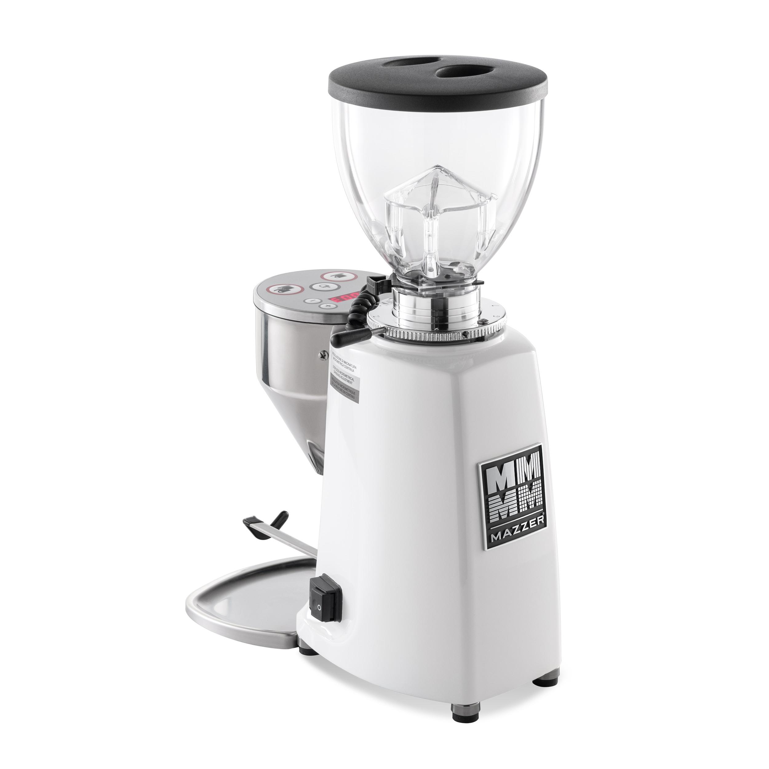Mazzer Mini E Type A - White - Short Hopper