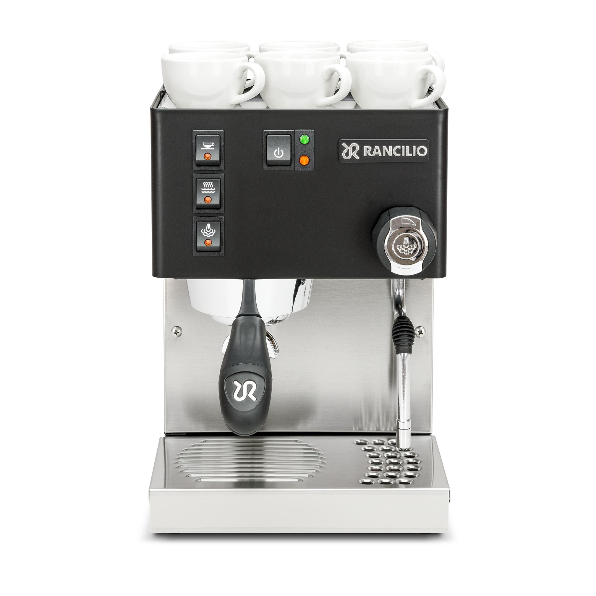 Rancilio Silvia BLACK Stainless Steel Espresso Machine
