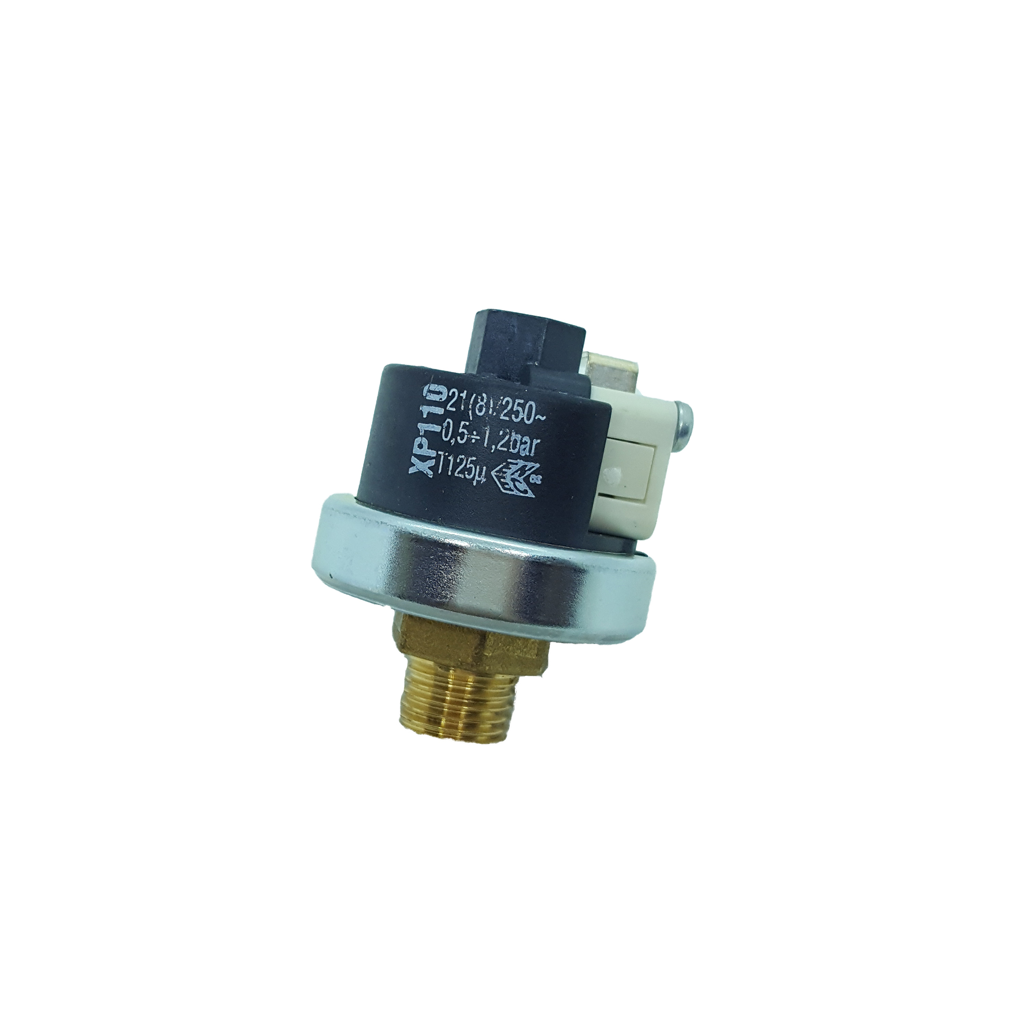 "Pressure Switch / PressureStat - XP110-PreCalibrated 1 Bar with 1/4"" std. fitting"