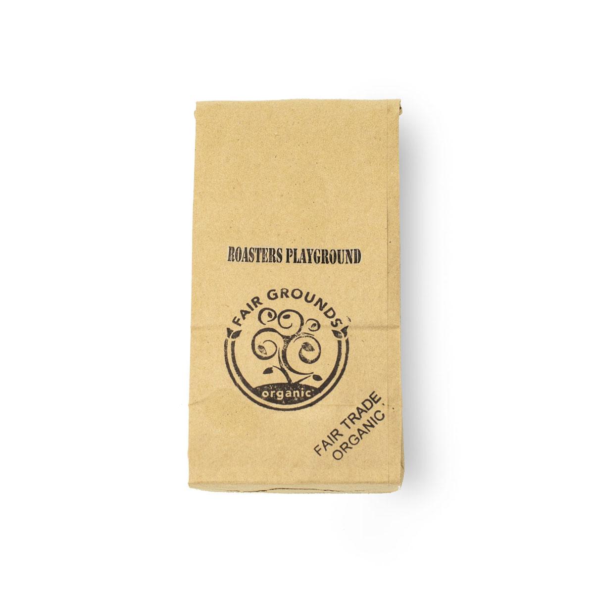 Fair Grounds Coffee Roasters Playground Fair Trade Organic 1/2lb Beans