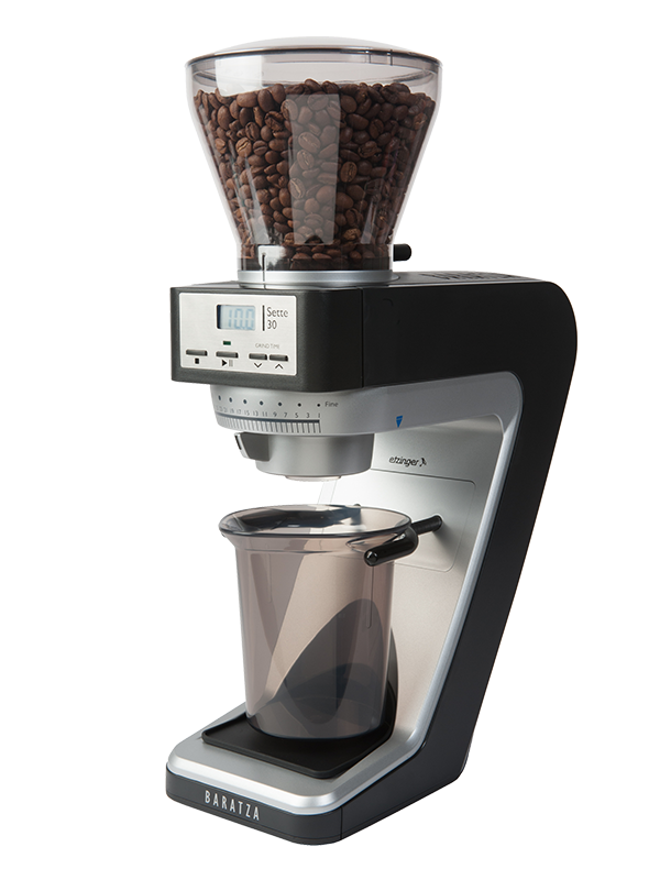 Rancilio Silvia M Black Espresso Machine and Baratza Sette 30 Grinder Bundle
