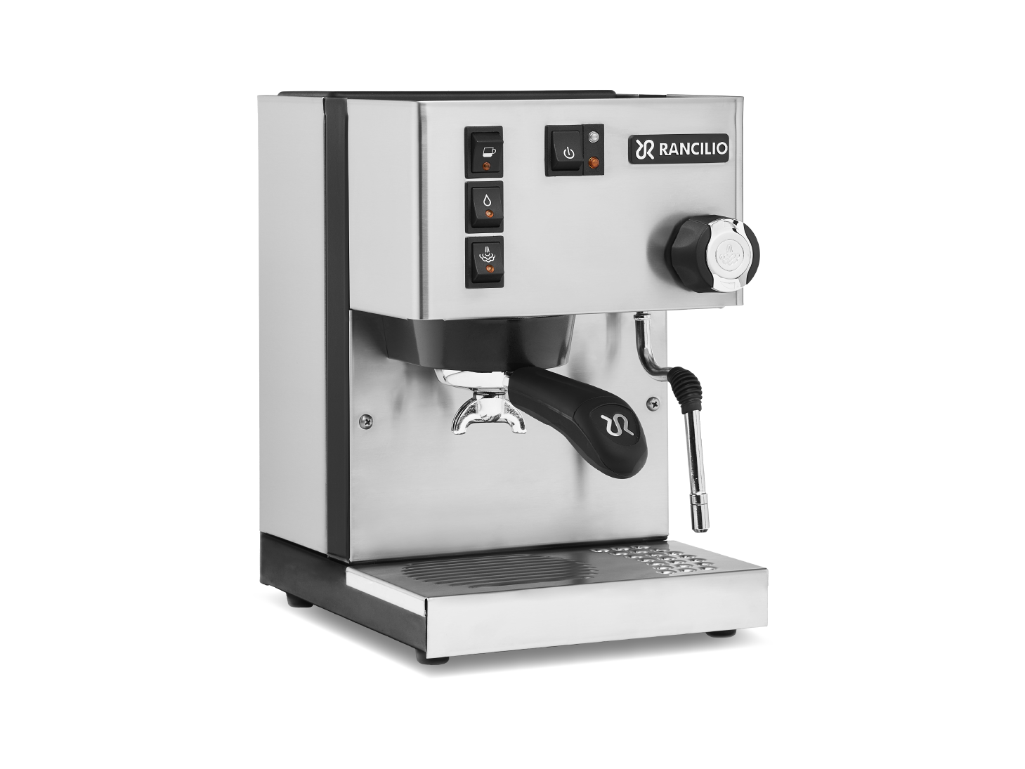 Rancilio Silvia M 2019 Update Stainless Steel Manual Espresso Machine