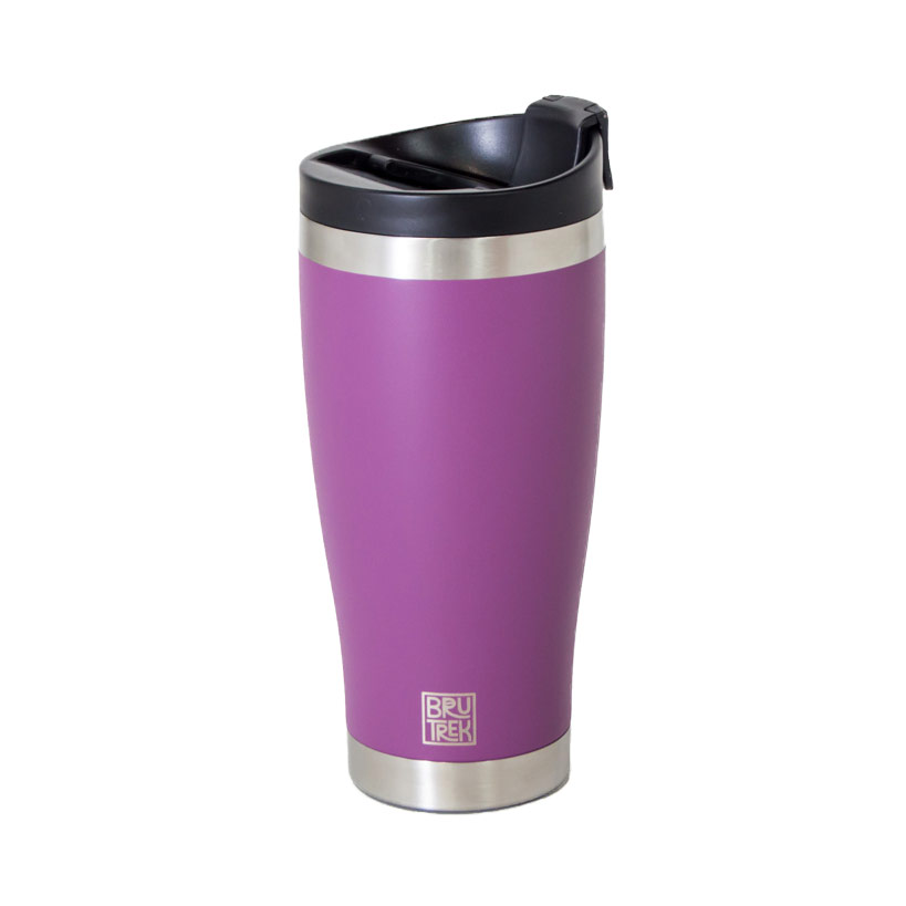 BruTrek by Planetary Design Adventure Tumbler 16oz Wild Plum Purple