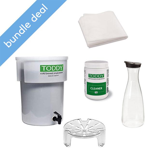 Toddy Commercial Cold Brew Starter Kit Bundle Deal
