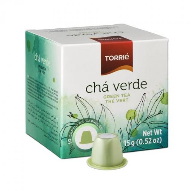 Torrie Capsules - Cha Verde (Green Tea) - Box of 10