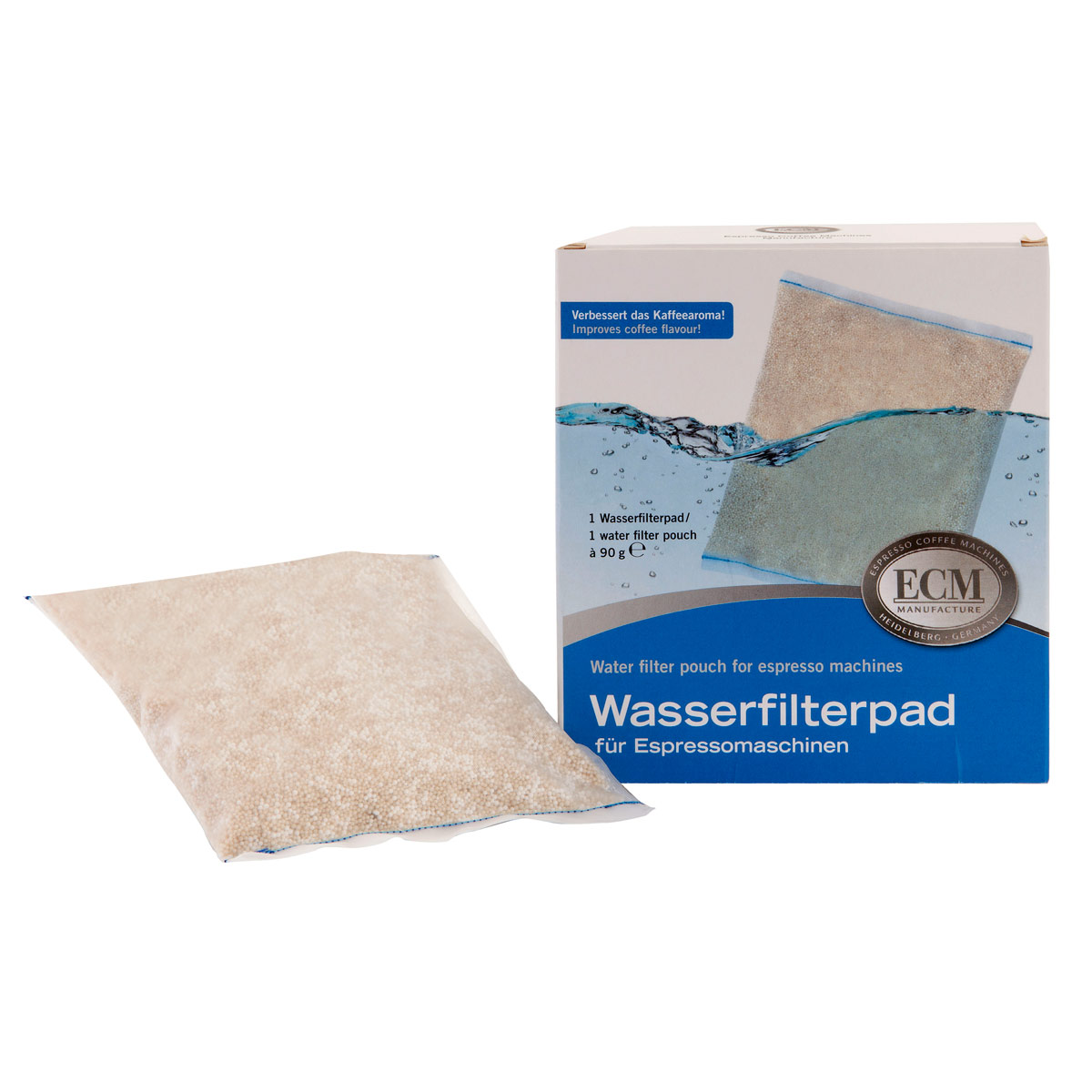 ECM Water Filter Pouch for Espresso Machines, 1 pk. #89440