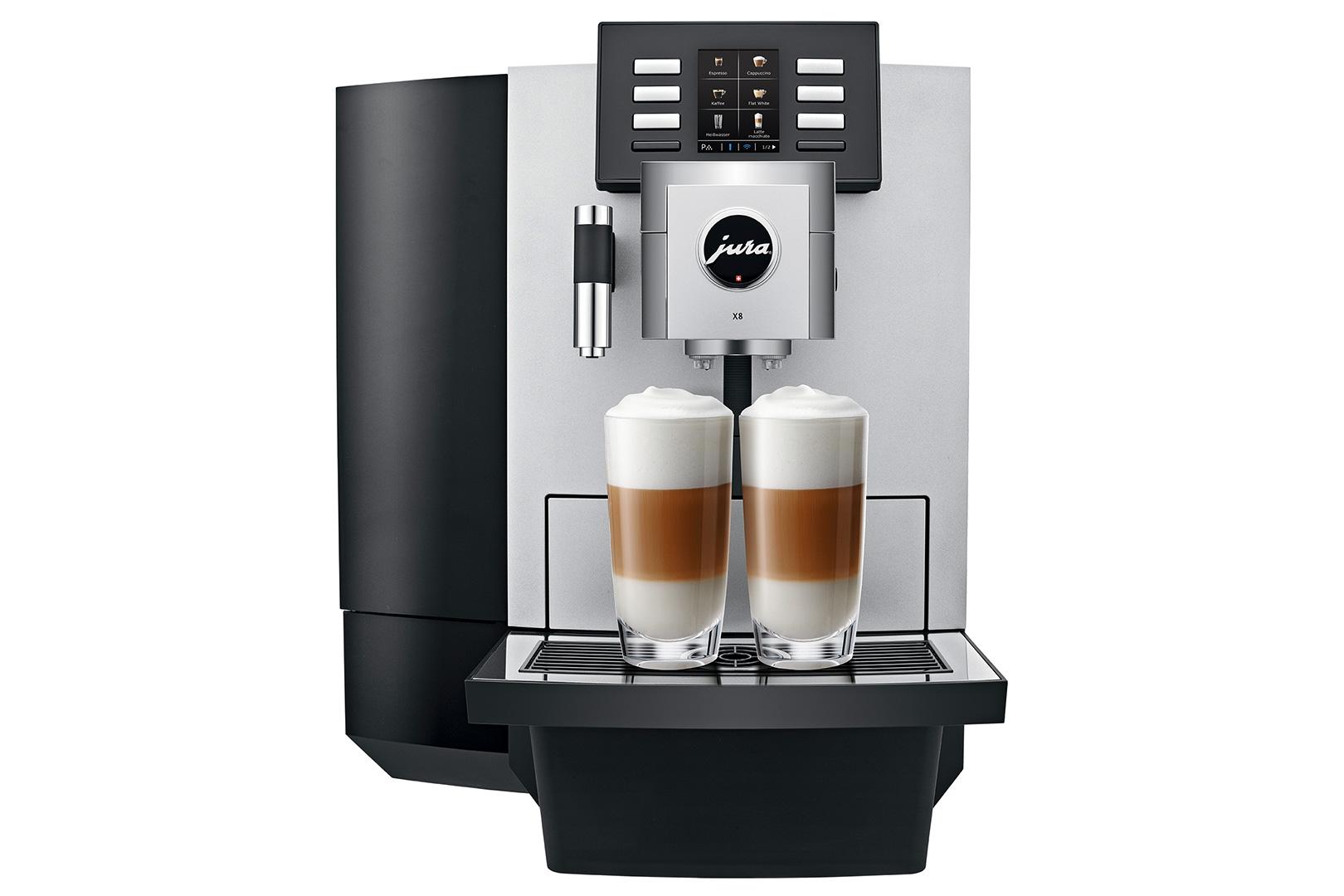 Jura X8 Platinum Professional Superautomatic Espresso Machine with P.E.P.