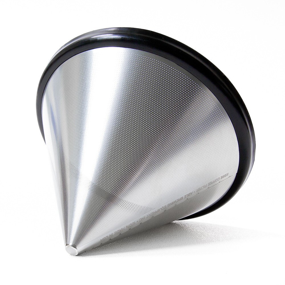 Able Brewing Kone Coffee Filter Stainless Steel