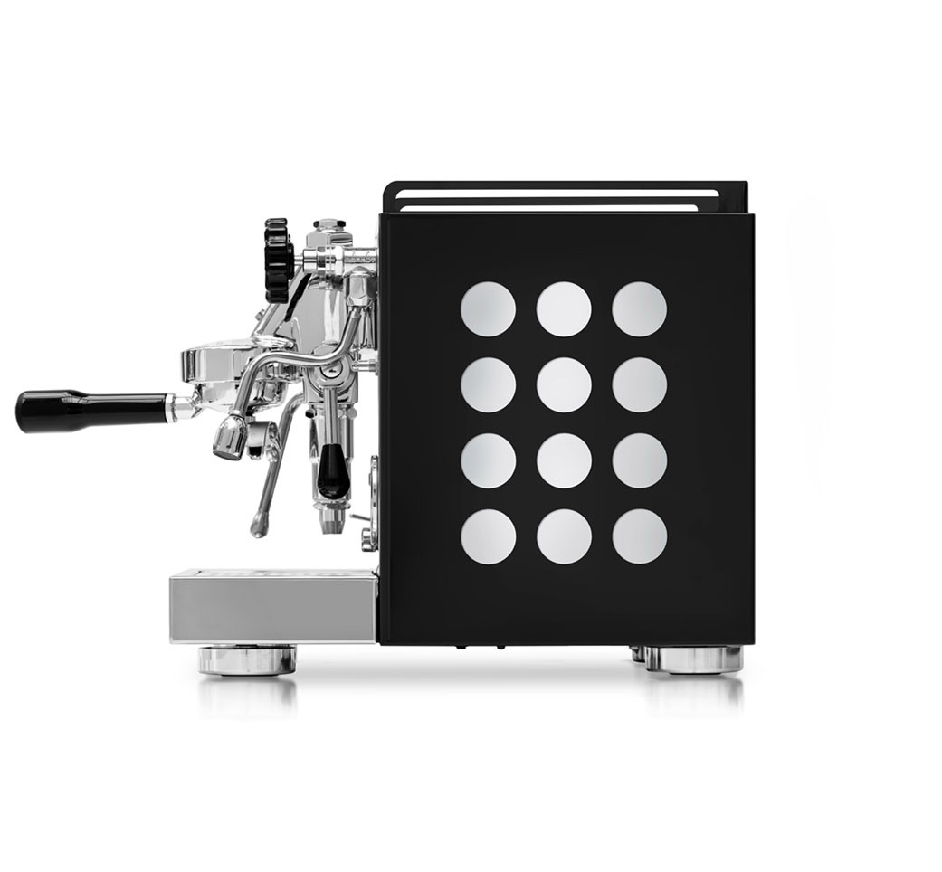 Rocket Appartamento Black (Serie Nera) with White