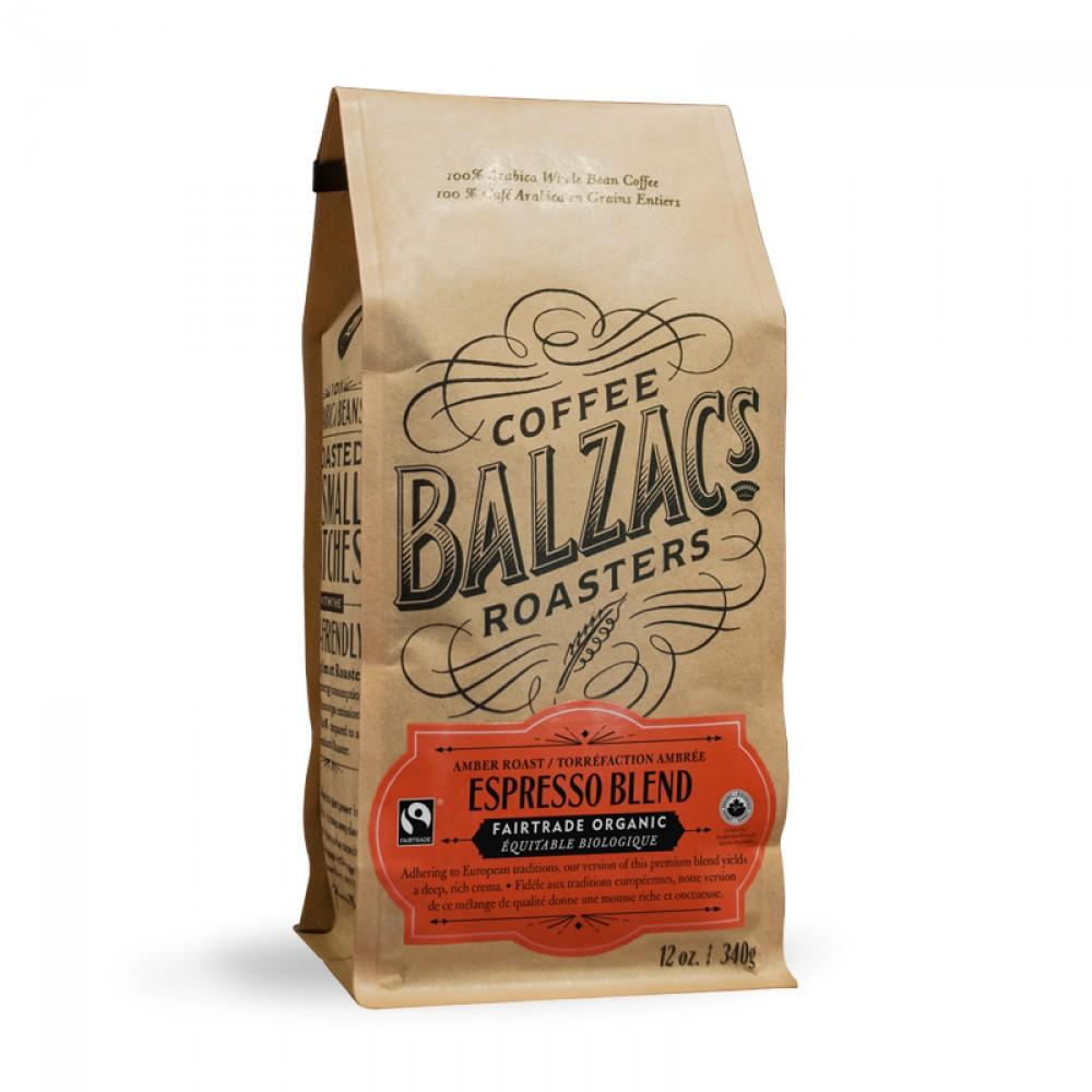 Balzac's Coffee Roasters Espresso Blend Beans - 12 oz