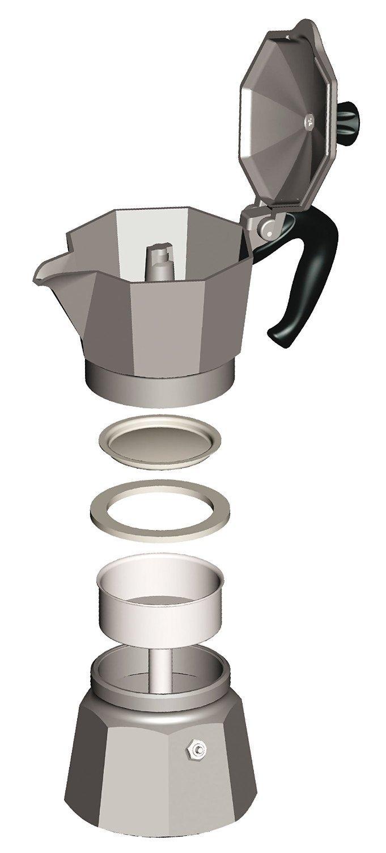 Bialetti 18 Cup Moka Espresso Maker