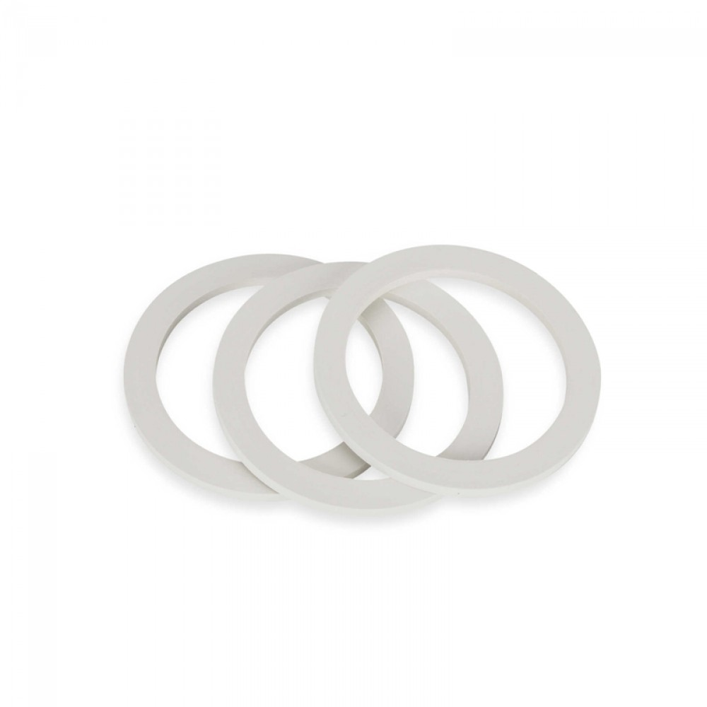Bialetti 3 Cup Replacement Gasket 63mm DIA (3-pack)