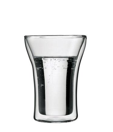 Bodum Assam 2 pcs glass, double wall, medium, 0.25 l, 8.5 oz