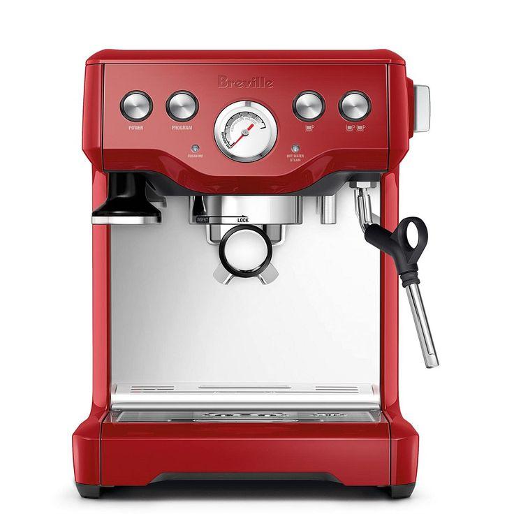 Breville Infuser BREBES840CBXL Espresso Machine CRANBERRY RED