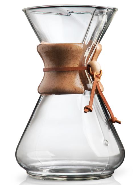 Chemex Classic Series 10 Cup Glass Coffee Maker