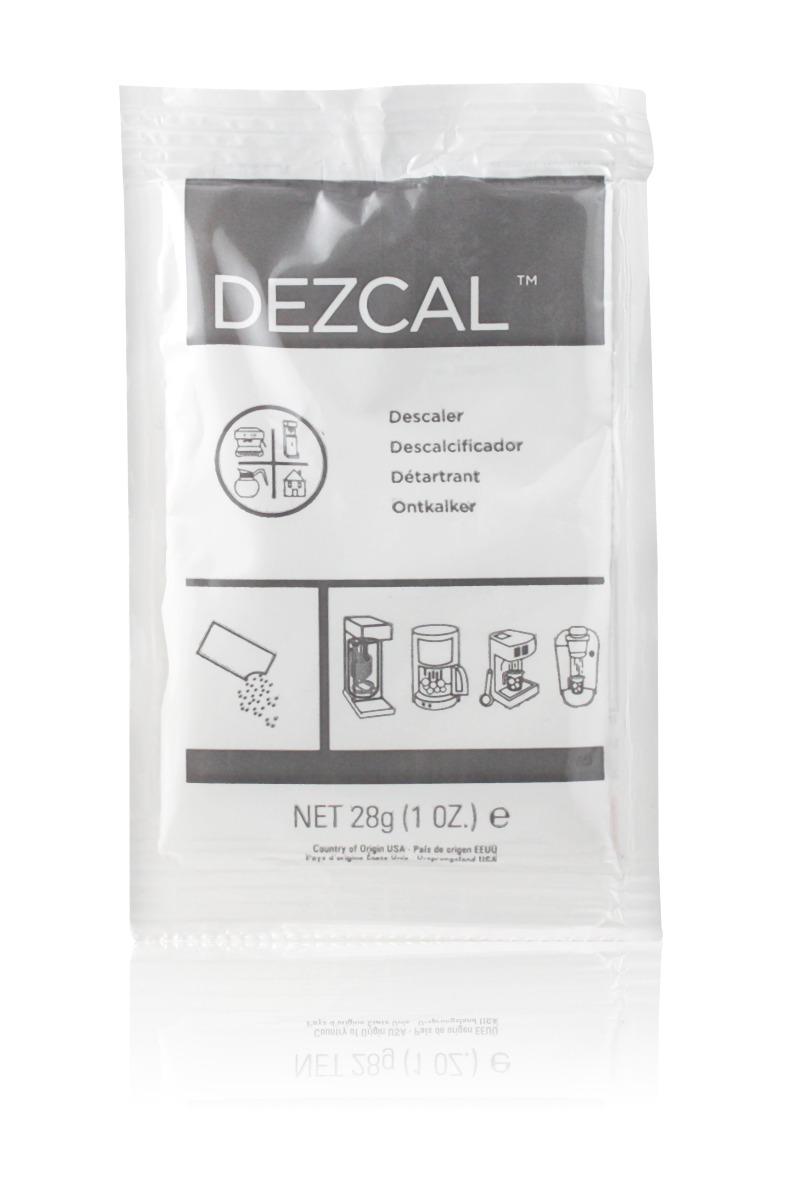 Urnex Dezcal Coffee and Espresso Machine Descaling Powder Packet