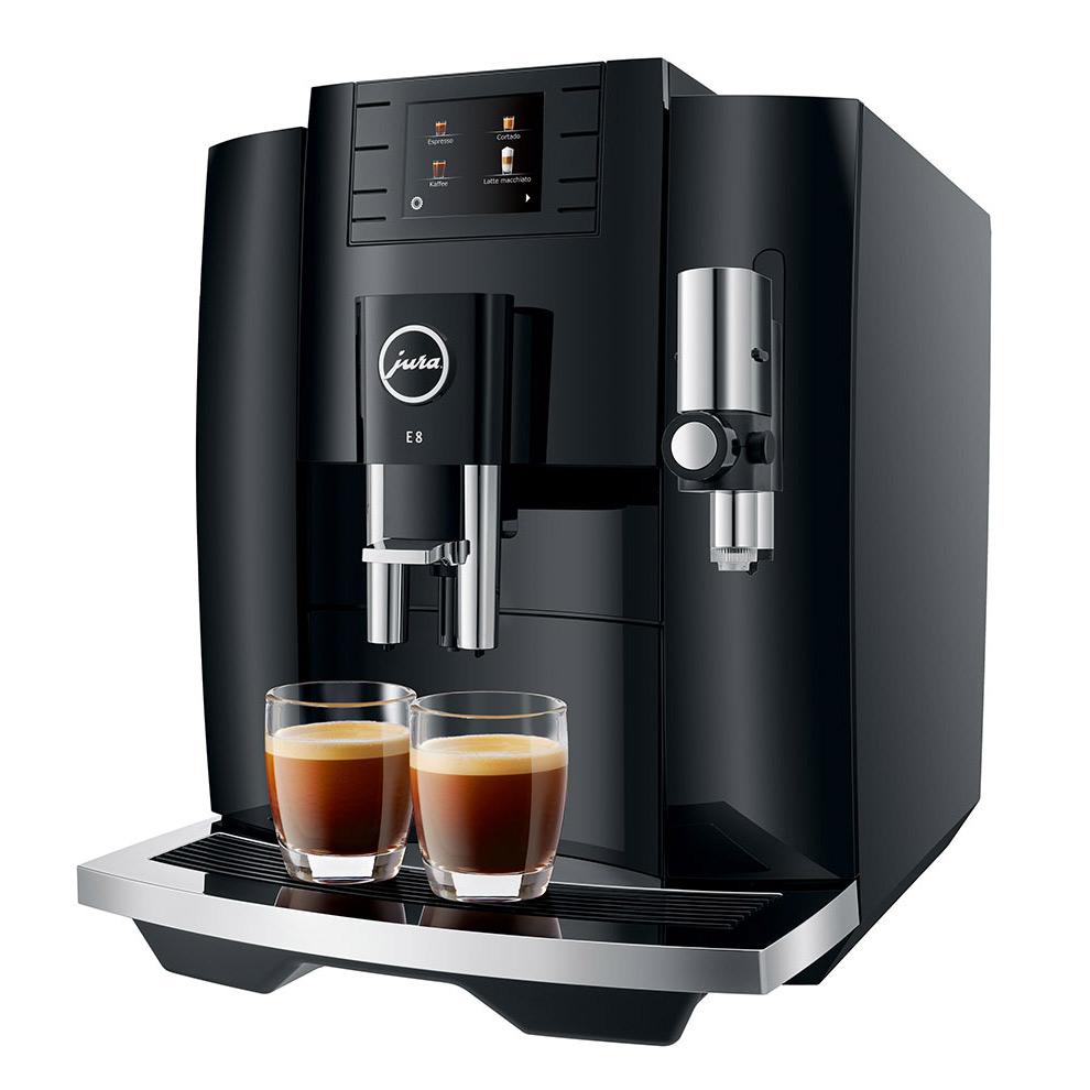 Jura E8 2021 Superautomatic Espresso Machine - Black #15400