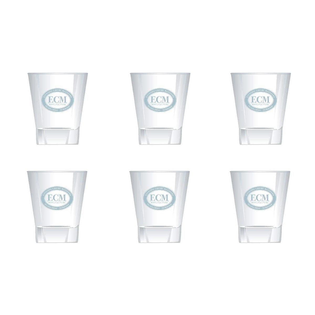 ECM Espresso 90ml / 3oz Glass Set of 6 - GC1001