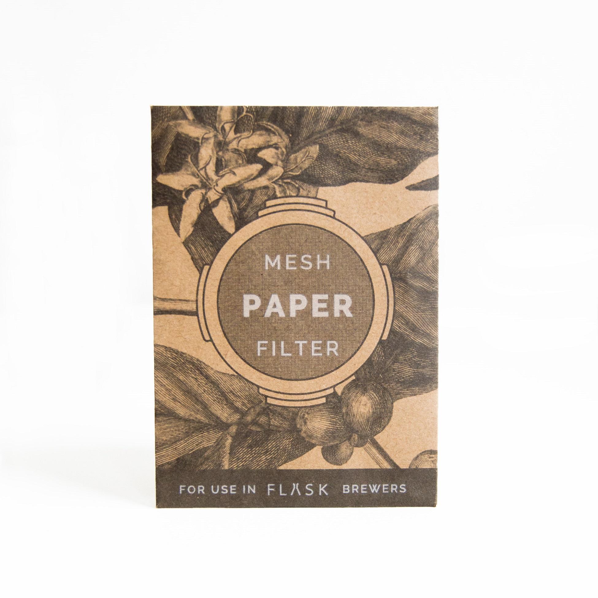 Planetary Design Ethoz FLASK French Press Paper Filters 20-Packs - FK FLT