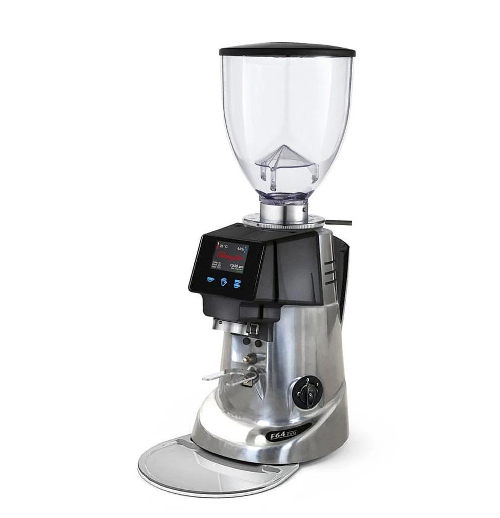 Fiorenzato F64 EVO Electronic Espresso Grinder Chrome