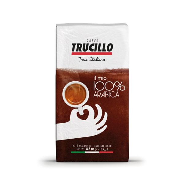 Trucillo Il Mio Caffe 100% Arabica Ground Coffee - 250g
