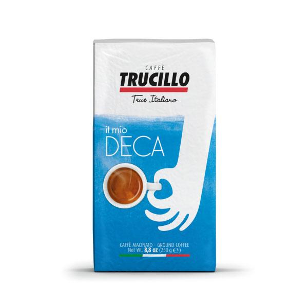 Trucillo Il Mio Caffe Deca Decaf Ground Coffee - 250g