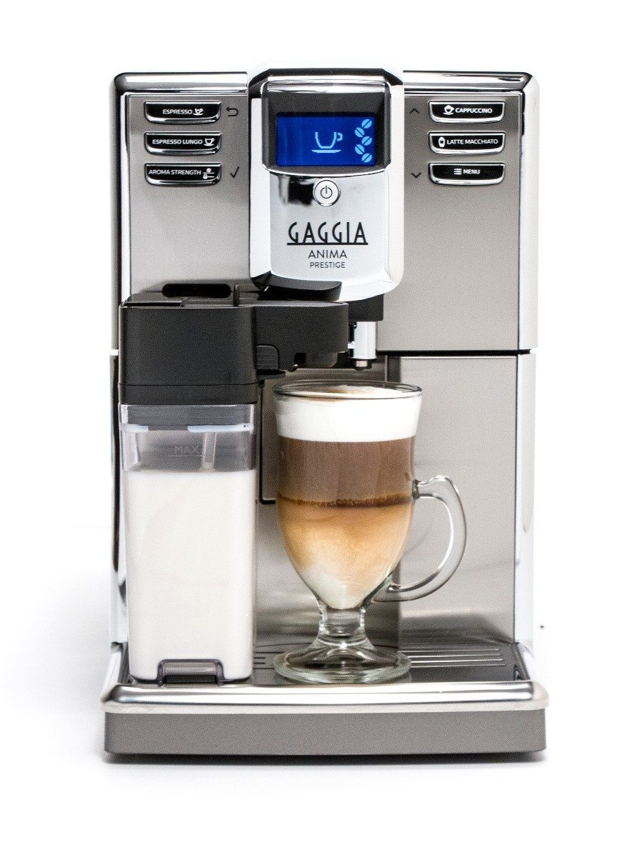 Gaggia Anima Prestige Super Automatic Espresso Machine - Silver Model No.RI8762/46