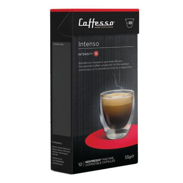 Caffesso Espresso Capsules - Intenso - Box of 10