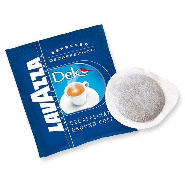 Lavazza Dek Decaffeinated Espresso ESE Pod (Case of 108)