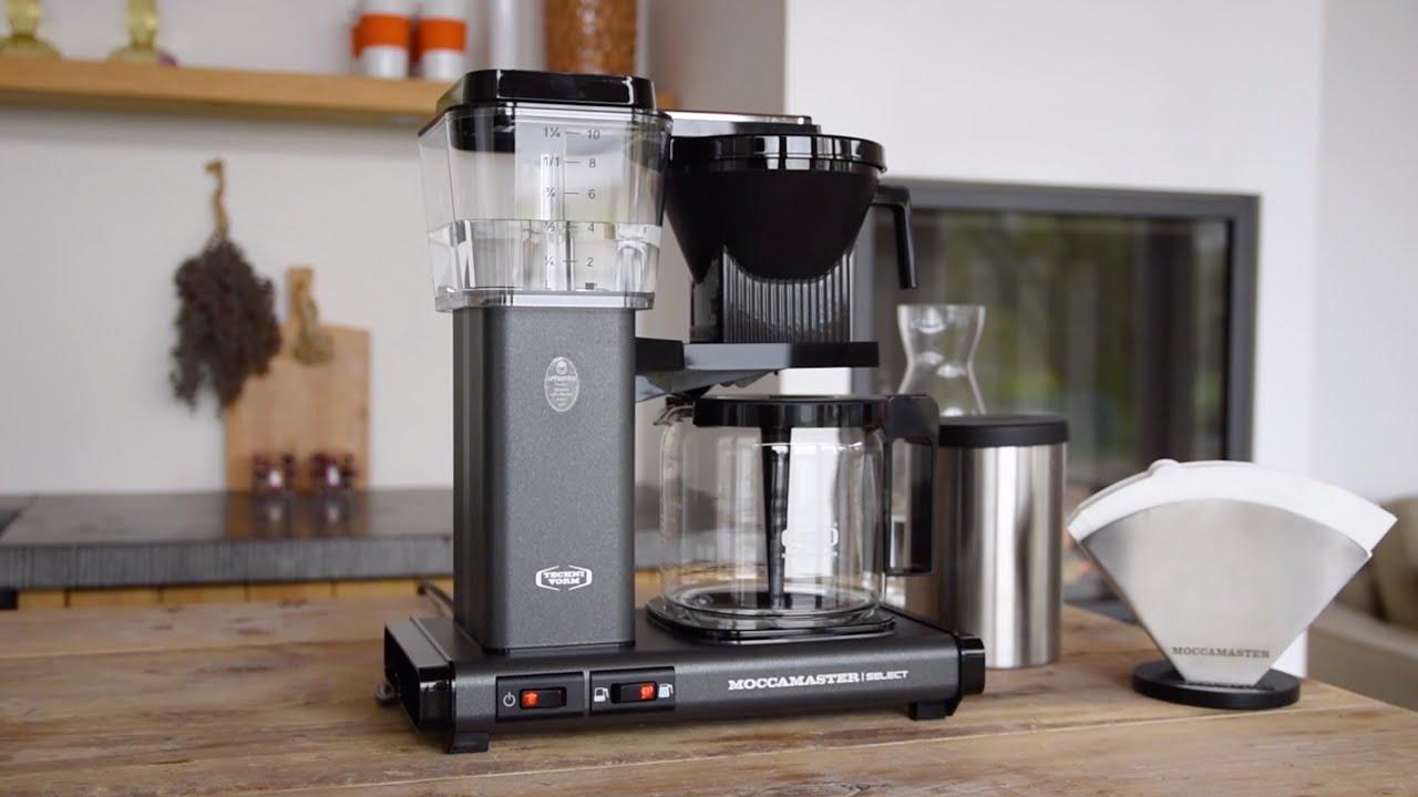 Technivorm Moccamaster KBGV Select Brewer Glass Carafe Matte Black - 53948