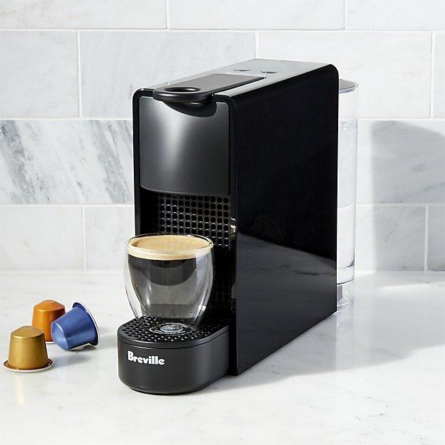Breville Nespresso Essenza Mini Black Single Serve
