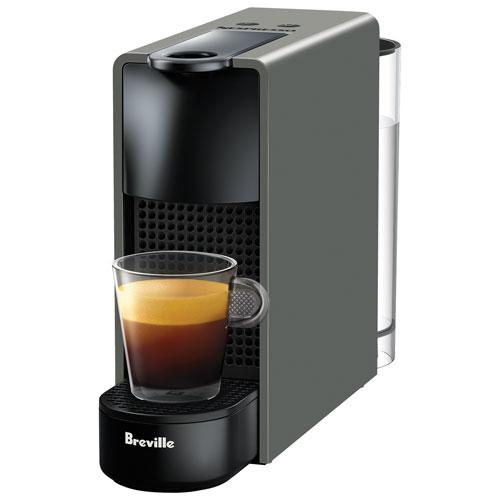 Breville Nespresso Essenza Mini GREY Single Serve Espresso Machine BEC220GRY1AUC1