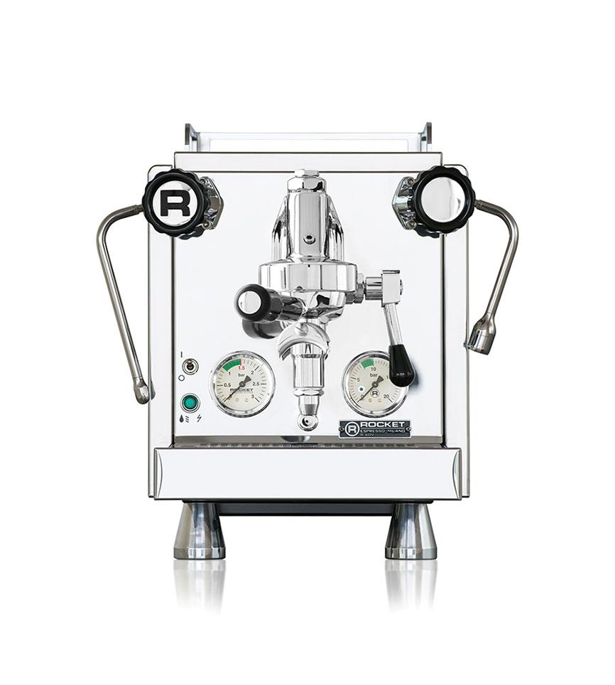 Rocket R60 V Dual Boiler Semi Automatic Espresso Machine with Pressure Profiling