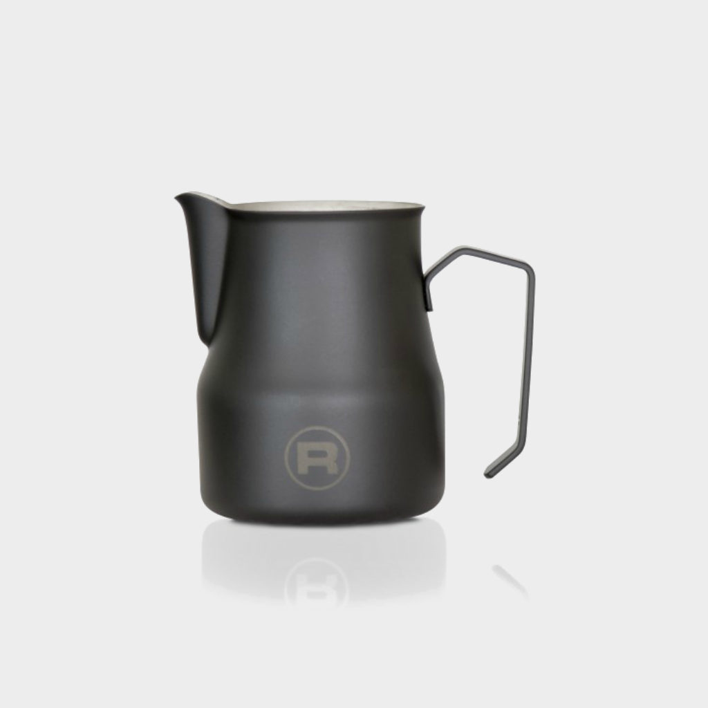 Rocket Logo Frothing Pitcher - 500ml - Black